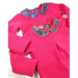 Sweat Fuschia col Liberty